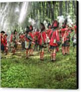 1763 Battle Of Bushy Run Pennsylvania Canvas Print