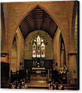 1865 - St. Jude's Church  - Interior Canvas Print