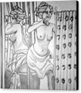 1920s Women Series 6 Canvas Print