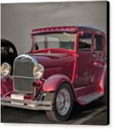 1929 Ford Model A Tudor Sedan Canvas Print by Gene Healy