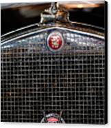 1930 Cadillac Roadster Hood Ornament 3 Canvas Print by Jill Reger