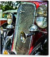1934 Chevrolet Head Lights Canvas Print by Paul Ward