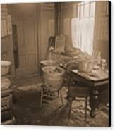 1935 Kitchen Canvas Print
