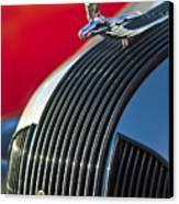 1935 Pontiac Sedan Hood Ornament Canvas Print by Jill Reger