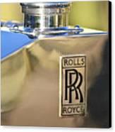 1935 Rolls-royce Phantom II Hood Ornament Canvas Print by Jill Reger