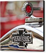 1936 American Lafrance Fire Truck Hood Ornament Canvas Print by Jill Reger