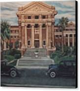 1936 Era Nueces County Courthouse Canvas Print