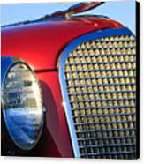 1937 Cadillac V8 Hood Ornament 2 Canvas Print by Jill Reger