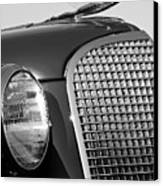 1937 Cadillac V8 Hood Ornament 3 Canvas Print by Jill Reger