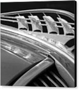 1938 Plymouth Hood Ornament 2 Canvas Print by Jill Reger