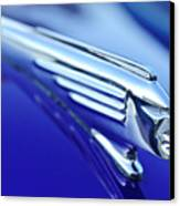 1939 Pontiac Coupe Hood Ornament 4 Canvas Print by Jill Reger