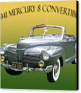 1941 Mercury Eight Convertible Canvas Print