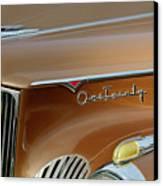 1941 Packard Hood Ornament 2  Canvas Print by Jill Reger
