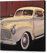 1941 Plymouth - Aunt Clara Canvas Print