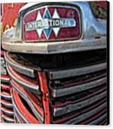 1946 International Harvester Truck Grill Canvas Print by Daniel Hagerman
