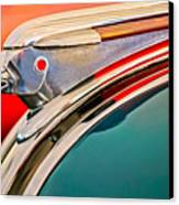 1948 Pontiac Chief Hood Ornament Canvas Print by Jill Reger
