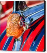 1951 Pontiac Chief Hood Ornament Canvas Print by Jill Reger