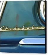 1953 Studebaker Champion Starliner Abstract Canvas Print by Jill Reger