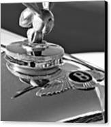 1954 Bentley One Of A Kind Hood Ornament 2 Canvas Print by Jill Reger