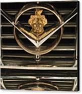 1955 Packard Hood Ornament Emblem Canvas Print by Jill Reger