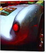 1955 Porsche 550 Rs Spyder . Painterly Style Canvas Print