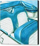 1956 Ford Fairlane Convertible 1 Canvas Print