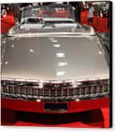 1959 Cadillac Eldorado Convertible . Rear View Canvas Print by Wingsdomain Art and Photography