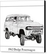 1962 Dodge Powerwagon Canvas Print