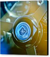 1965 Aston Martin Db5 Coupe Rhd Steering Wheel Canvas Print