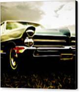 1965 Pontiac Bonneville Canvas Print by Phil 'motography' Clark