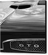 1967 Pontiac Gto Canvas Print by Gordon Dean II