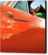 1969 Plymouth Road Runner 440 Roadrunner Canvas Print