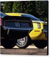 1970 Plymouth 'cuda 440 And Hemi Canvas Print