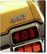 1972 Oldsmobile Cutlass 4-4-2 Canvas Print by Gordon Dean II