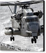 A Ch-53e Super Stallion Helicopter Canvas Print by Stocktrek Images