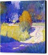 Back Road Canvas Print