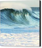 Beautiful Wave Breaking Canvas Print
