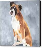 Buddy Canvas Print by Arline Wagner
