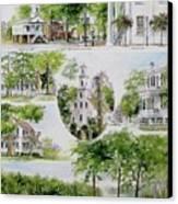 Cheraw Collage Canvas Print by Gloria Turner