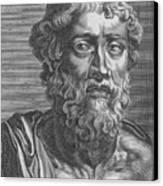 Demosthenes, Ancient Greek Orator Canvas Print