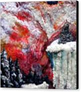 Detail Of Winter Canvas Print by Kimberly Simon