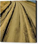 Dirt Road Winding Canvas Print