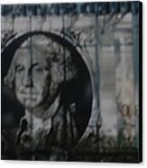Dollar Bill Canvas Print