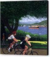 East Van Bike Ride Canvas Print