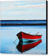 Eastpoint Red Canvas Print by Rick McKinney