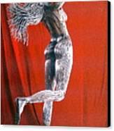 Evolution Of Eve Figure 2 Canvas Print by Greg Coffelt