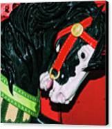 Fiery Stallion Canvas Print