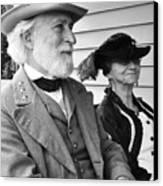 General Lee And Mary Custis Lee Canvas Print