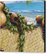 Hawaiian Still Life Panel Canvas Print by Sandra Blazel - Printscapes