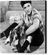 Jailhouse Rock, Elvis Presley, 1957 Canvas Print